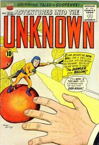 Cover for Adventures into the Unknown (American Comics Group, 1948 series) #120