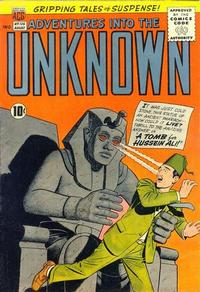 Cover for Adventures into the Unknown (American Comics Group, 1948 series) #126