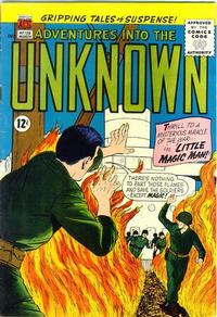 Cover for Adventures into the Unknown (American Comics Group, 1948 series) #139