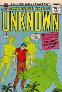 Cover Thumbnail for Adventures into the Unknown (American Comics Group, 1948 series) #143