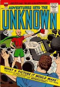 Cover for Adventures into the Unknown (American Comics Group, 1948 series) #144