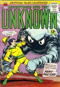 Cover for Adventures into the Unknown (American Comics Group, 1948 series) #153