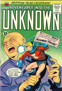 Cover Thumbnail for Adventures into the Unknown (American Comics Group, 1948 series) #160