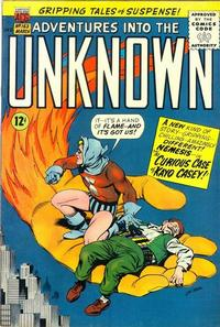 Cover Thumbnail for Adventures into the Unknown (American Comics Group, 1948 series) #163
