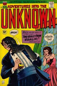 Cover Thumbnail for Adventures into the Unknown (American Comics Group, 1948 series) #169