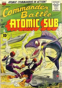 Cover Thumbnail for Commander Battle and the Atomic Sub (American Comics Group, 1954 series) #5