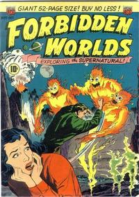 Cover Thumbnail for Forbidden Worlds (American Comics Group, 1951 series) #2