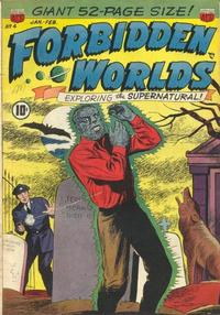 Cover Thumbnail for Forbidden Worlds (American Comics Group, 1951 series) #4