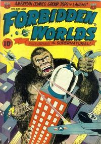 Cover Thumbnail for Forbidden Worlds (American Comics Group, 1951 series) #6