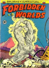 Cover Thumbnail for Forbidden Worlds (American Comics Group, 1951 series) #9