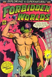 Cover Thumbnail for Forbidden Worlds (American Comics Group, 1951 series) #12