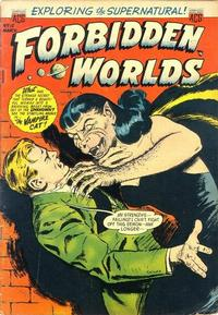 Cover Thumbnail for Forbidden Worlds (American Comics Group, 1951 series) #15