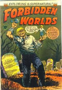 Cover Thumbnail for Forbidden Worlds (American Comics Group, 1951 series) #16
