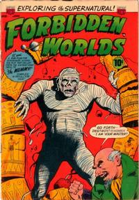 Cover Thumbnail for Forbidden Worlds (American Comics Group, 1951 series) #18
