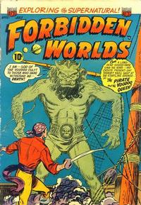 Cover Thumbnail for Forbidden Worlds (American Comics Group, 1951 series) #19