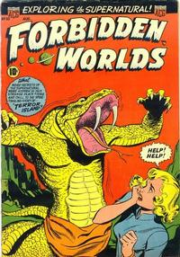 Cover Thumbnail for Forbidden Worlds (American Comics Group, 1951 series) #20