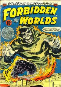 Cover Thumbnail for Forbidden Worlds (American Comics Group, 1951 series) #22