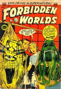 Cover Thumbnail for Forbidden Worlds (American Comics Group, 1951 series) #23