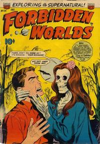Cover Thumbnail for Forbidden Worlds (American Comics Group, 1951 series) #24