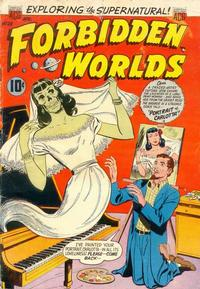 Cover Thumbnail for Forbidden Worlds (American Comics Group, 1951 series) #28