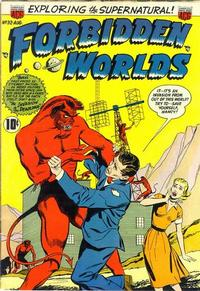 Cover Thumbnail for Forbidden Worlds (American Comics Group, 1951 series) #32