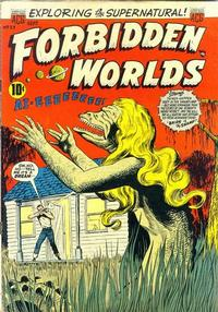 Cover Thumbnail for Forbidden Worlds (American Comics Group, 1951 series) #33