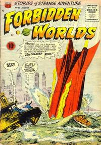 Cover Thumbnail for Forbidden Worlds (American Comics Group, 1951 series) #35