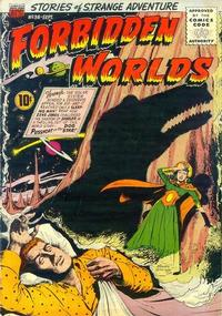 Cover Thumbnail for Forbidden Worlds (American Comics Group, 1951 series) #36