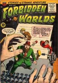 Cover Thumbnail for Forbidden Worlds (American Comics Group, 1951 series) #37