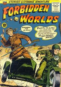 Cover Thumbnail for Forbidden Worlds (American Comics Group, 1951 series) #39