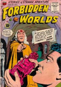 Cover Thumbnail for Forbidden Worlds (American Comics Group, 1951 series) #40