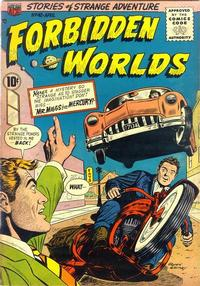 Cover Thumbnail for Forbidden Worlds (American Comics Group, 1951 series) #42