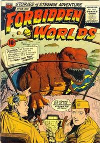 Cover Thumbnail for Forbidden Worlds (American Comics Group, 1951 series) #48