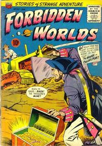 Cover Thumbnail for Forbidden Worlds (American Comics Group, 1951 series) #50