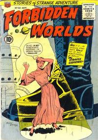 Cover Thumbnail for Forbidden Worlds (American Comics Group, 1951 series) #58