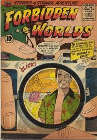 Cover Thumbnail for Forbidden Worlds (American Comics Group, 1951 series) #59