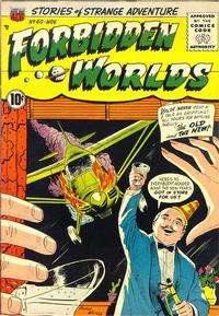 Cover Thumbnail for Forbidden Worlds (American Comics Group, 1951 series) #60