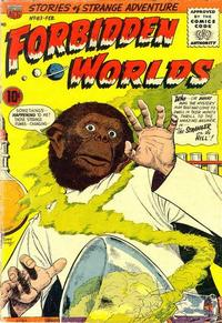 Cover Thumbnail for Forbidden Worlds (American Comics Group, 1951 series) #63