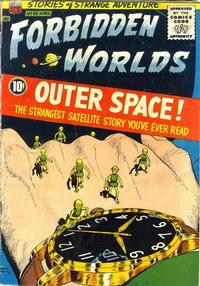 Cover Thumbnail for Forbidden Worlds (American Comics Group, 1951 series) #65