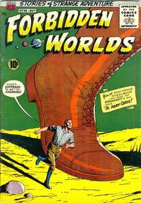 Cover Thumbnail for Forbidden Worlds (American Comics Group, 1951 series) #66
