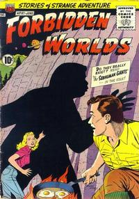 Cover Thumbnail for Forbidden Worlds (American Comics Group, 1951 series) #67