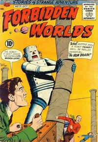 Cover Thumbnail for Forbidden Worlds (American Comics Group, 1951 series) #71