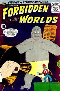 Cover Thumbnail for Forbidden Worlds (American Comics Group, 1951 series) #85
