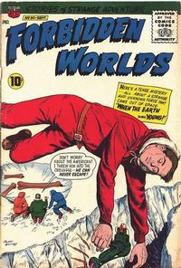 Cover Thumbnail for Forbidden Worlds (American Comics Group, 1951 series) #90