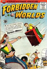 Cover Thumbnail for Forbidden Worlds (American Comics Group, 1951 series) #95