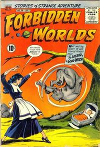 Cover Thumbnail for Forbidden Worlds (American Comics Group, 1951 series) #96