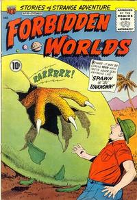 Cover Thumbnail for Forbidden Worlds (American Comics Group, 1951 series) #98