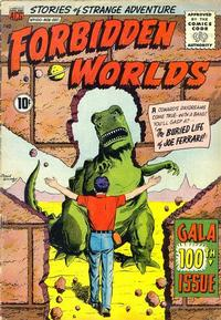 Cover Thumbnail for Forbidden Worlds (American Comics Group, 1951 series) #100