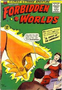 Cover Thumbnail for Forbidden Worlds (American Comics Group, 1951 series) #102
