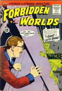 Cover Thumbnail for Forbidden Worlds (American Comics Group, 1951 series) #112